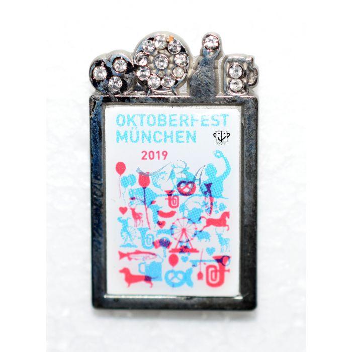 Pin Anstecker Oktoberfest Plakatmotiv 2019 Spezial