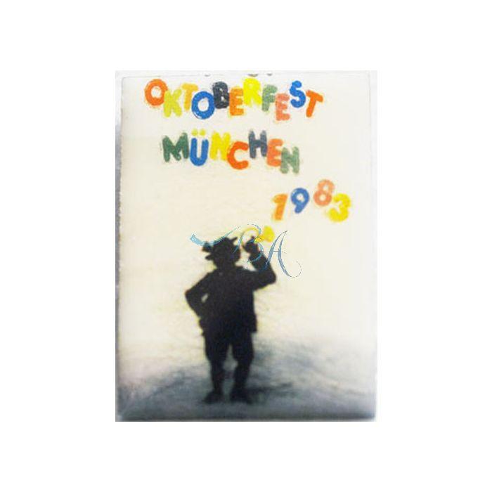 Pin Anstecker Oktoberfest Plakatmotiv 1983