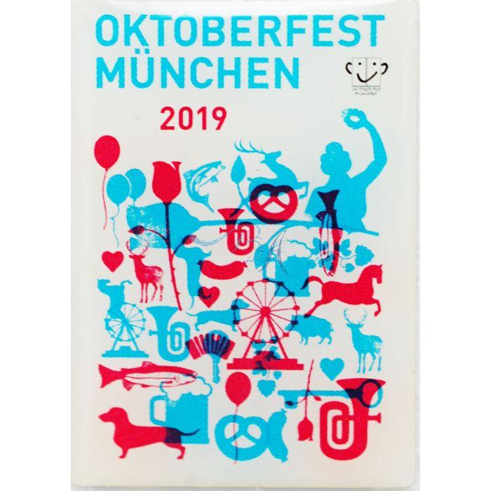Pin Anstecker Oktoberfest Plakatmotiv 2019