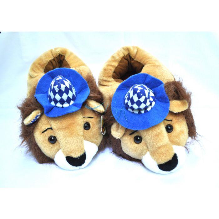Plüschtier Löwen Hausschuhe