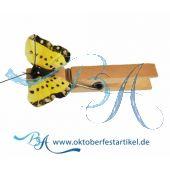 Holz Wäscheklammer mit Schmetterling