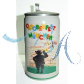 1983 - Offizieller Plakatmotiv Oktoberfestkrug mit Zinndeckel, Jahrgangskrug