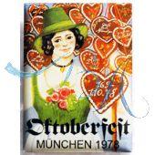 Magnet Oktoberfest Plakatmotiv 1978