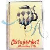 Magnet Oktoberfest Plakatmotiv 1980