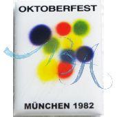 Pin Anstecker Oktoberfest Plakatmotiv 1982