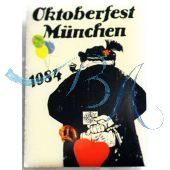 Pin Anstecker Oktoberfest Plakatmotiv 1984