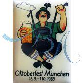 Pin Anstecker Oktoberfest Plakatmotiv 1989