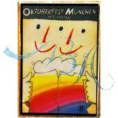 Pin Anstecker Oktoberfest Plakatmotiv 1992