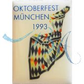 Pin Anstecker Oktoberfest Plakatmotiv 1993