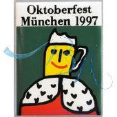 Pin Anstecker Oktoberfest Plakatmotiv 1997