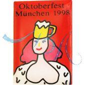 Pin Anstecker Oktoberfest Plakatmotiv 1998