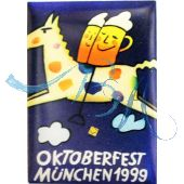 Pin Anstecker Oktoberfest Plakatmotiv 1999