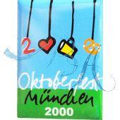 Pin Anstecker Oktoberfest Plakatmotiv 2000