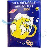 Pin Anstecker Oktoberfest Plakatmotiv 2001