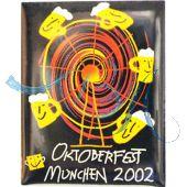 Pin Anstecker Oktoberfest Plakatmotiv 2002