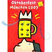 Pin Anstecker Oktoberfest Plakatmotiv 2003