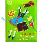 Pin Anstecker Oktoberfest Plakatmotiv 2010