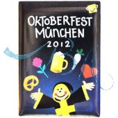 Pin Anstecker Oktoberfest Plakatmotiv 2012