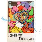 Magnet Oktoberfest Plakatmotiv 2014