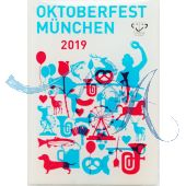 Magnet Oktoberfest Plakatmotiv 2019