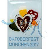 Pin Anstecker Oktoberfest Plakatmotiv 2017