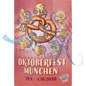 Pin Anstecker Oktoberfest Plakatmotiv 2020