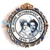 Pin Anstecker Persönlichkeiten Brautpaar König Ludwig I von Bayern und Prinzessin Therese