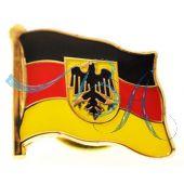 Pin Anstecker Flagge Deutschland mit Wappen