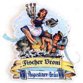 Pin Anstecker Festzelt Fischer Vroni 2013