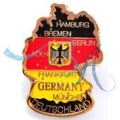 Pin Anstecker Deutschland Karte