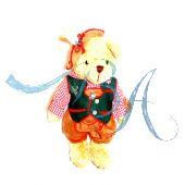 Plüschtier Trachten Teddybär Franz