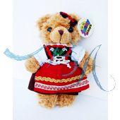 Plüschtier, Trachten Teddybär Dame