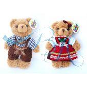 Plüschtier Trachten Teddybären Paar