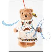 Plüschtier, Trachten Teddybär (Madel)