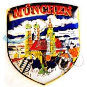 Pin Anstecker Souvenir Landeshauptstadt München