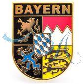 Pin Anstecker Wappen Freistaat Bayern kl.