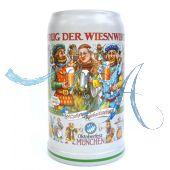 2016 - Wiesn Wirte Krug, Brauereikrug, Bierkrug, Steinkrug, Oktoberfestkrug
