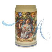 2007 - Wiesn Wirte Krug, Brauereikrug, Bierkrug, Steinkrug, Oktoberfestkrug