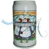 2012 - Wiesn Wirte Krug, Brauereikrug, Bierkrug, Steinkrug, Oktoberfestkrug